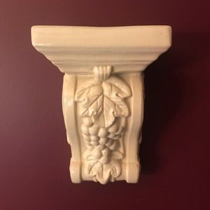 White Wall sconce or shelf